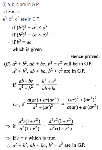 ML Aggarwal Class 10 Solutions for ICSE Maths Chapter 9