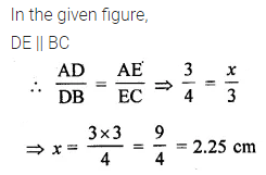 ML Aggarwal Class 10 Solutions for ICSE Maths Chapter 13 Similarity MCQS