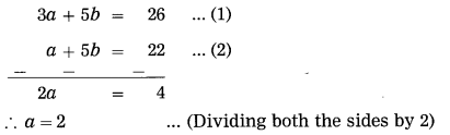 Maharashtra Board Class 10 Maths Solutions Chapter 1 Linear Equations in Two Variables Ex 1.1 2