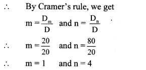 Maharashtra Board Class 10 Maths Solutions Chapter 1 Linear Equations in Two Variables Problem Set 17
