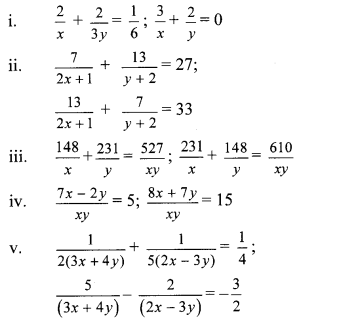 Maharashtra Board Class 10 Maths Solutions Chapter 1 Linear Equations in Two Variables Problem Set 23