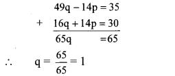 Maharashtra Board Class 10 Maths Solutions Chapter 1 Linear Equations in Two Variables Problem Set 31