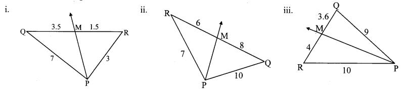 Maharashtra Board Class 10 Maths Solutions Chapter 1 Similarity Practice Set 1.2 1