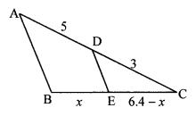 Maharashtra Board Class 10 Maths Solutions Chapter 1 Similarity Problem Set 1 15