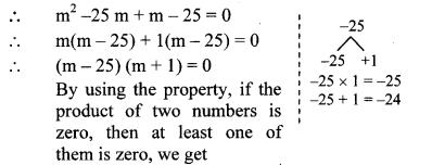 Maharashtra Board Class 10 Maths Solutions Chapter 2 Quadratic Equations Practice Set 2.2 11