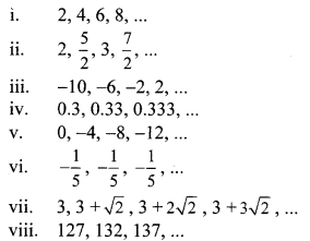 Maharashtra Board Class 10 Maths Solutions Chapter 3 Arithmetic Progression Practice Set 3.1 1