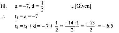 Maharashtra Board Class 10 Maths Solutions Chapter 3 Arithmetic Progression Practice Set 3.1 6