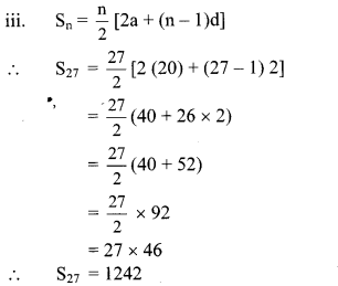 Maharashtra Board Class 10 Maths Solutions Chapter 3 Arithmetic Progression Practice Set 3.4 4