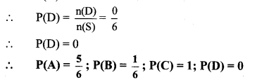 Maharashtra Board Class 10 Maths Solutions Chapter 5 Probability Problem Set 5 24