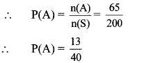 Maharashtra Board Class 10 Maths Solutions Chapter 5 Probability Problem Set 5 29