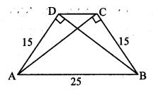 Maharashtra Board Class 10 Maths Solutions Chapter 2 Pythagoras Theorem Problem Set 2 12