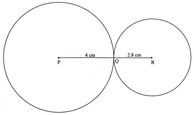 Maharashtra Board Class 10 Maths Solutions Chapter 3 Circle Practice Set 3.2 3