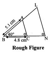 Maharashtra Board Class 10 Maths Solutions Chapter 4 Geometric Constructions Problem Set 4 11