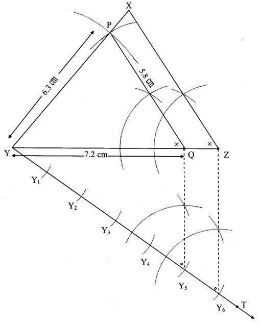 Maharashtra Board Class 10 Maths Solutions Chapter 4 Geometric Constructions Problem Set 4 14