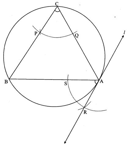 Maharashtra Board Class 10 Maths Solutions Chapter 4 Geometric Constructions Problem Set 4 4