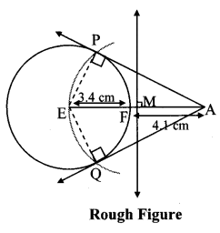 Maharashtra Board Class 10 Maths Solutions Chapter 4 Geometric Constructions Problem Set 4 9