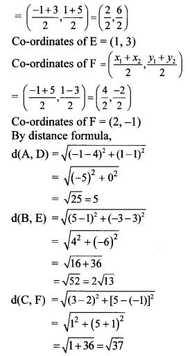Maharashtra Board Class 10 Maths Solutions Chapter 5 Co-ordinate Geometry Problem Set 5 26