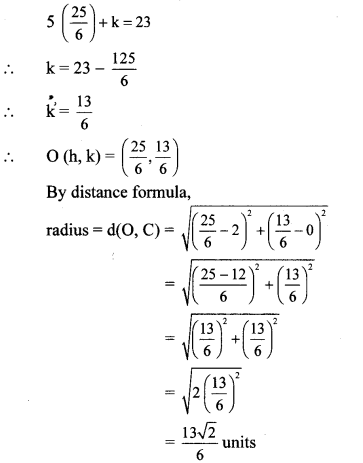 Maharashtra Board Class 10 Maths Solutions Chapter 5 Co-ordinate Geometry Problem Set 5 36