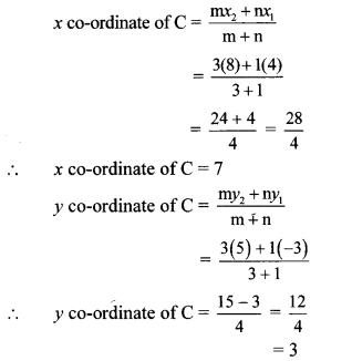 Maharashtra Board Class 10 Maths Solutions Chapter 5 Co-ordinate Geometry Problem Set 5 37