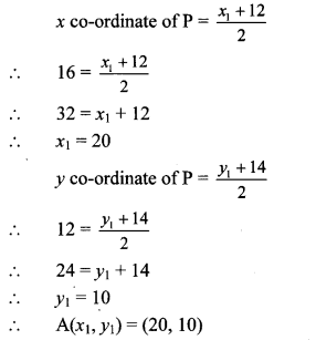 Maharashtra Board Class 10 Maths Solutions Chapter 5 Co-ordinate Geometry Problem Set 5 41