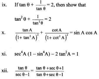 Maharashtra Board Class 10 Maths Solutions Chapter 6 Trigonometry Practice Set 6.1 15