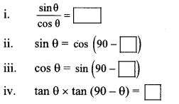 Maharashtra Board Class 10 Maths Solutions Chapter 6 Trigonometry Practice Set 6.1 29