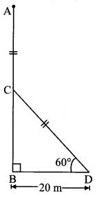 Maharashtra Board Class 10 Maths Solutions Chapter 6 Trigonometry Practice Set 6.2 6