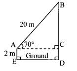 Maharashtra Board Class 10 Maths Solutions Chapter 6 Trigonometry Problem Set 6 21