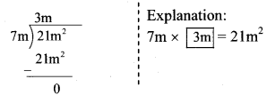 Maharashtra Board Class 8 Maths Solutions Chapter 10 Division of Polynomials Practice Set 10.1 1
