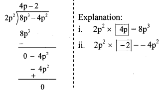 Maharashtra Board Class 8 Maths Solutions Chapter 10 Division of Polynomials Practice Set 10.1 6