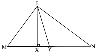 Maharashtra Board Class 8 Maths Solutions Chapter 4 Altitudes and Medians of a Triangle Practice Set 4.1 1