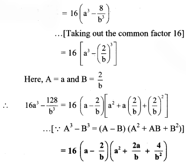 Maharashtra Board Class 8 Maths Solutions Chapter 6 Factorisation of Algebraic Expressions Practice Set 6.3 2