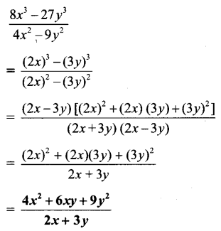 Maharashtra Board Class 8 Maths Solutions Chapter 6 Factorisation of Algebraic Expressions Practice Set 6.4 3