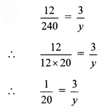 Maharashtra Board Class 8 Maths Solutions Chapter 7 Variation Practice Set 7.1 1
