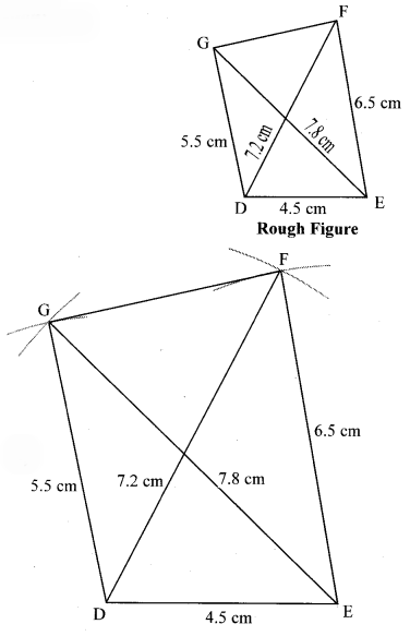 Maharashtra Board Class 8 Maths Solutions Chapter 8 Quadrilateral Constructions and Types Practice Set 8.1 2