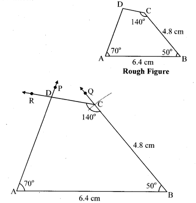 Maharashtra Board Class 8 Maths Solutions Chapter 8 Quadrilateral Constructions and Types Practice Set 8.1 3