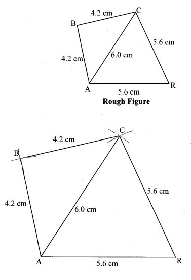 Maharashtra Board Class 8 Maths Solutions Chapter 8 Quadrilateral Constructions and Types Practice Set 8.3 6