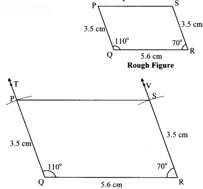 Maharashtra Board Class 8 Maths Solutions Chapter 8 Quadrilateral Constructions and Types Practice Set 8.3 7