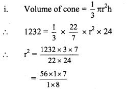 Maharashtra Board Class 9 Maths Solutions Chapter 9 Surface Area and Volume Practice Set 9.2 5