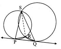 Maharashtra Board Class 10 Maths Solutions Chapter 3 Circle Problem Set 3 42
