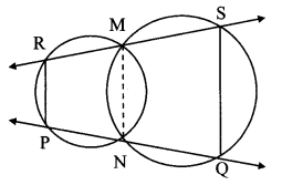 Maharashtra Board Class 10 Maths Solutions Chapter 3 Circle Problem Set 3 44