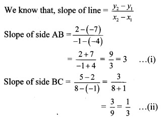 Maharashtra Board Class 10 Maths Solutions Chapter 5 Co-ordinate Geometry Practice Set 5.3 15