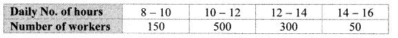 Maharashtra Board Class 10 Maths Solutions Chapter 6 Statistics Practice Set 6.2 1