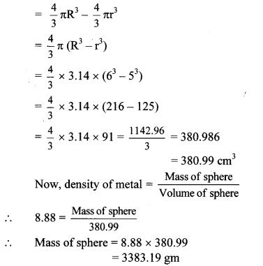 Maharashtra Board Class 10 Maths Solutions Chapter 7 Mensuration Problem Set 7 13