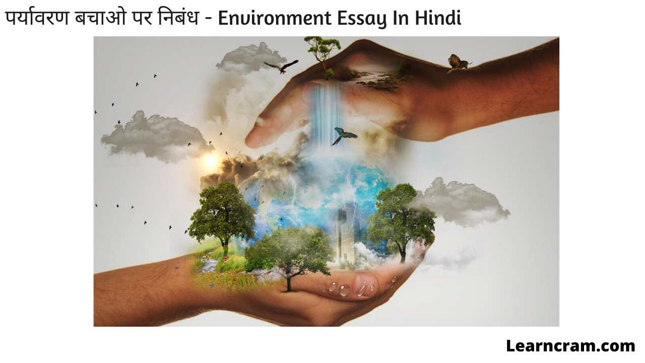 Environment Essay In Hindi