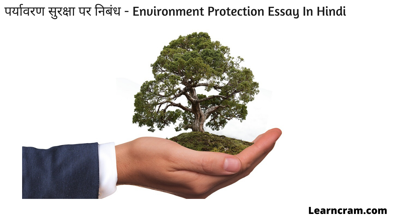 Environment Protection Essay In Hindi