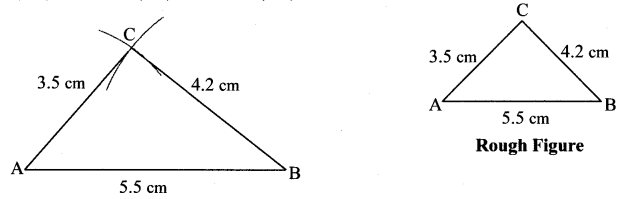 Maharashtra Board Class 7 Maths Solutions Chapter 1 Geometrical Constructions Practice Set 2 1