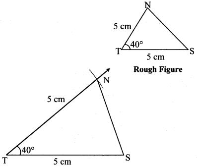 Maharashtra Board Class 7 Maths Solutions Chapter 1 Geometrical Constructions Practice Set 3 2