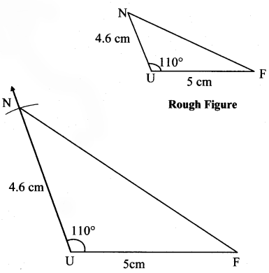 Maharashtra Board Class 7 Maths Solutions Chapter 1 Geometrical Constructions Practice Set 3 3
