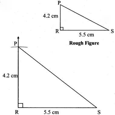 Maharashtra Board Class 7 Maths Solutions Chapter 1 Geometrical Constructions Practice Set 3 4